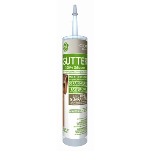 GE GE50G01 10.1 oz Clear Gutter Caulk