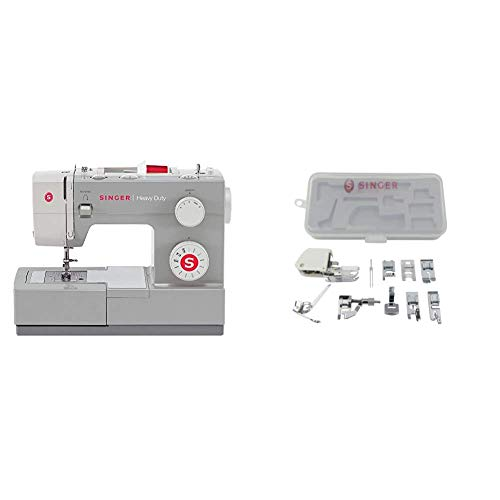 SINGER | Heavy Duty 4411 Sewing Machine with 11 Built-In Stitches,...