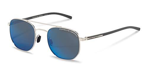 Porsche Design Gafas de Sol P'8695 Silver/Blue 51/20/145 unisex