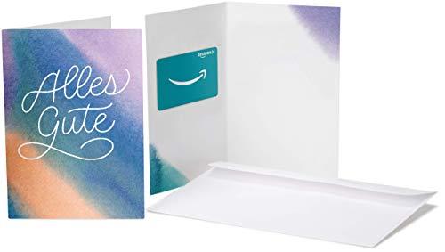 Amazon.de Geschenkgutschein in Grußkarte (Die besten Wünsche)