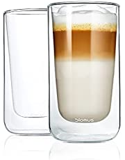 Blomus Nero Set van 2 thermo-espresso-glazen