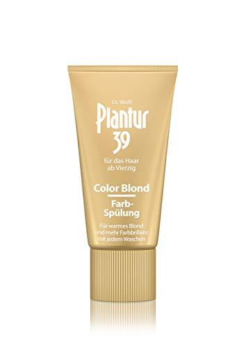 Plantur 39 Color Blond Farb-Spülung – Farbauffrischende Haarspülung für Frauen – für bessere Kämmbarkeit – für blondiertes und blondes Haar – 1 x 150 ml