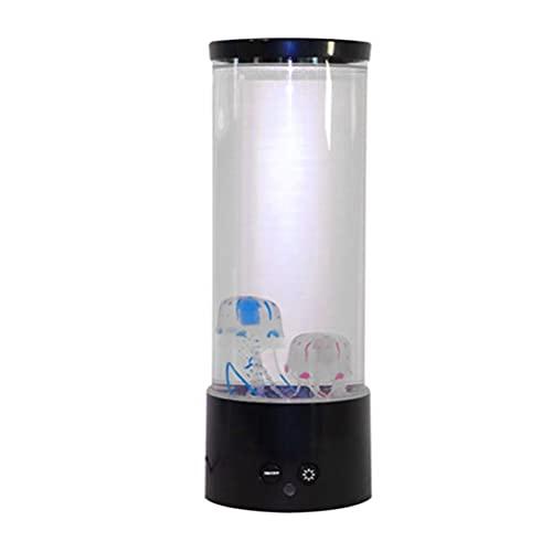 BSTQC Lámpara LED de simulación de medusas, mando a distancia, luz nocturna, lámpara de fantasía, cambio de color, medusas, tanque, acuario, regalo para niños