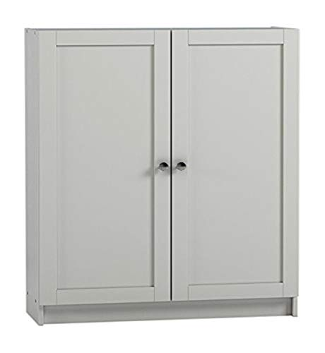 Steens Group Anette 756/50 Puertas Set, 93 x 80 x 2 cm, MDF Blanco