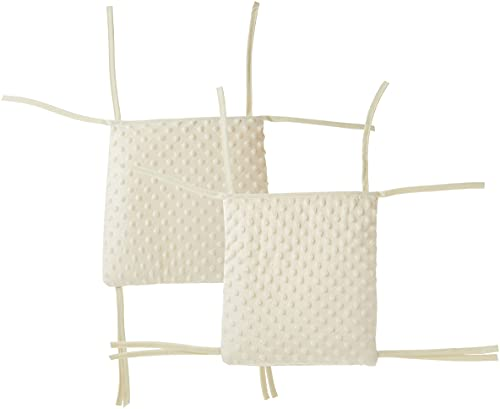Baby Doll Bedding Heavenly Soft Child Rocking Chair Cushion Pad Set, Ivory/Ecru(Chair is not Included with The Product)
