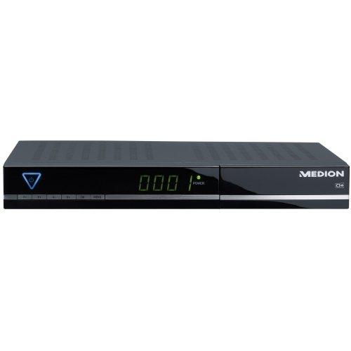 MEDION MD 28008 P24013 digitaler HD SAT-Receiver Twin Tuner HDTV PVR USB HDMI Aufnahme auf USB ° CI+ Slot ° 8 facher Timer