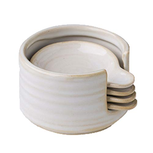 Sauce Serving Dish Round Dipping Bowls Mini Bowls Set Seasoning Dishes Sauce Serving Bowls Small Ceramic Bowls Multipurpose Porcelain Side Dish Bowl Seasoning Dish