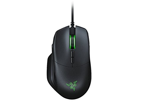 Razer Basilisk Wired FPS Gaming Mouse with True 16.000 DPI 5G Optical Sensor, Removable DPI Switch and Customizable Scroll Wheel
