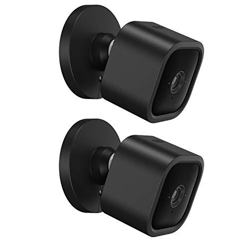 BECEMURU Blink Mini Silikonhäute Überwachungskamera Schützen und Tarnen Sie die Kamera mit UV-Licht und wetterfester Silikonhülle für die Blink Mini Kamera (2 Pack)