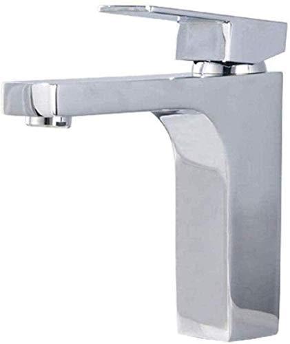 Moderno todo cobre agua que ahorra agua caliente y fría grifo del lavabo del cuarto de baño del grifo