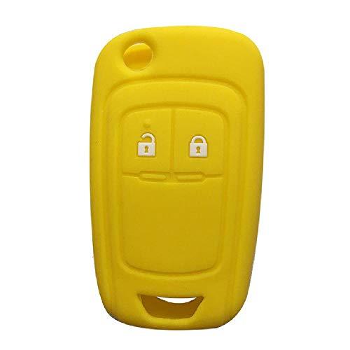 TGBVRubber Car Remote Key Fob Shell Cover Case para Opel Astra J Corsa D Zafira C Mokka Insignia Cascada Karl Adam Meriva Key Cover