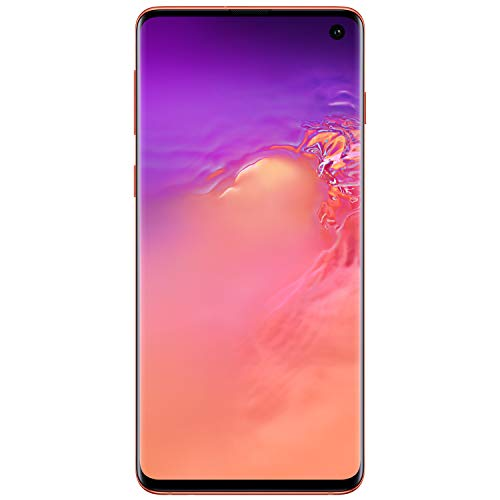 Samsung Galaxy S10Factory Unlocked Android Cell Phone | US Version | 512GBof Storage | Fingerprint ID and Facial Recognition | Long-Lasting Battery | U.S. Warranty | Flamingo Pink