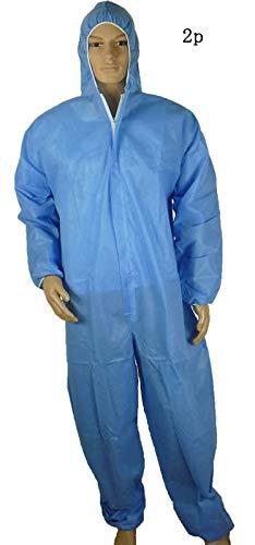 PREMOD Einweg-Schutzkleid Outdoorschutz Isolation Kleidung,XXL