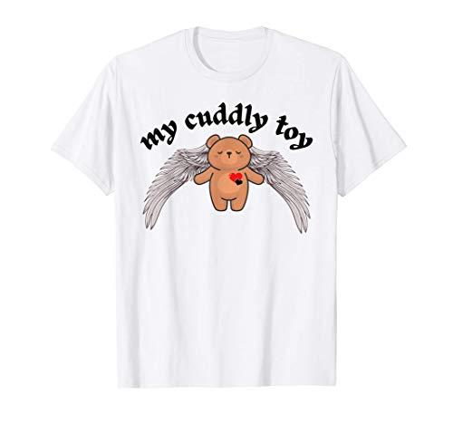 My Cuddly Toy | Süßer Fashion Teddy Bär mit Herz & Flügeln T-Shirt