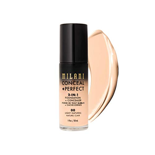 MILANI Conceal + Perfect 2-In-1 Foundation + Concealer - Light Natural