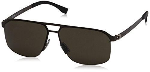 Hugo Boss Boss 0839/S NR U2S gafas de sol, Marrón (Smtt Brown/Brw Grey), 61 para Hombre