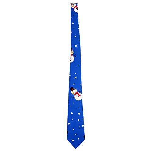 ifundom Hombres Corbatas Navideñas Corbatas Navideñas para Niños Corbatas Navideñas Corbata Fiesta Navideña Accesorios para Disfraces