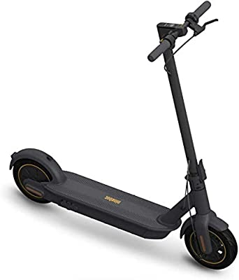 Segway Ninebot MAX Electric Kick Scooter, Max Speed 18.6 MPH, Long-range Battery, Foldable and Portable by