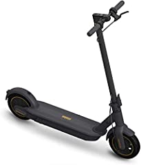Revolutionary Upgrade of Electric Scooters: With powerful 350W motor, Segway Ninebot MAX can reach to 18. 6 mph, travel up to 40. 4 miles and max load of 220 lbs. Our Smart Battery Management System assures the battery safety and extends the battery ...
