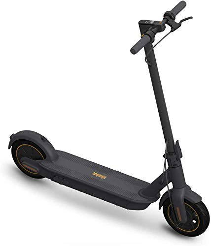 SEGWAY Ninebot MAX Electric Kick Scooter Up to 40.4 Miles Long-range Battery Max Speed 18.6 MPH Foldable and Portable Dark Grey, Extra Large (G30P)