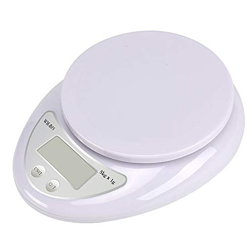 5Kg / 1G Digital Kitchen Scale elektronische weegschaal Voedsel Gezonde voeding Meting High Quality Precisieweegschaal Jewelry Schaal