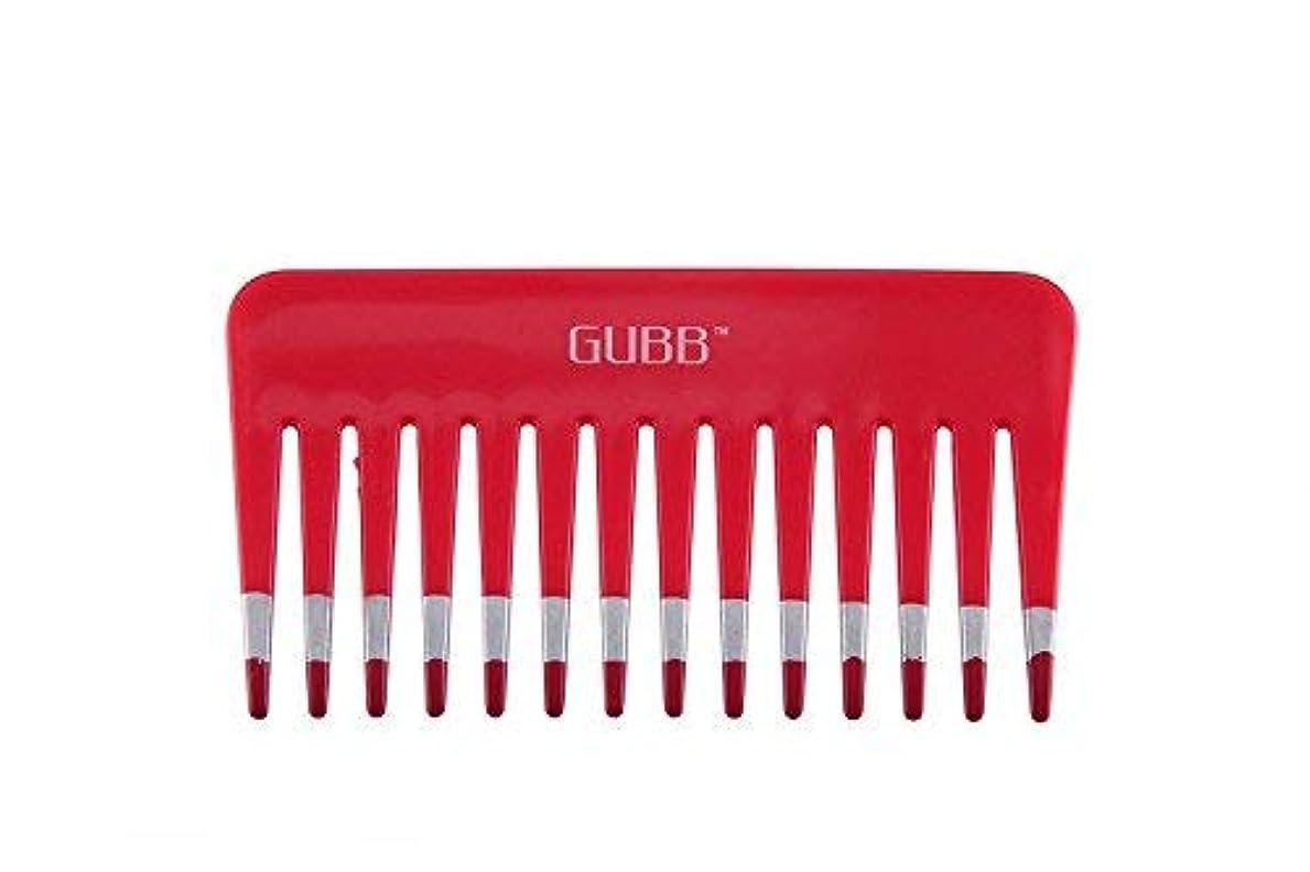 橋脚人種間違いなくGUBB Vital Shampoo Comb (Wide & Coarse Teeth) [並行輸入品]