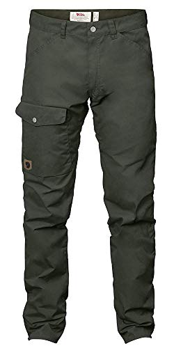 FJÄLLRÄVEN Herren Greenland Jeans Long Hose, Deep Forest, 50