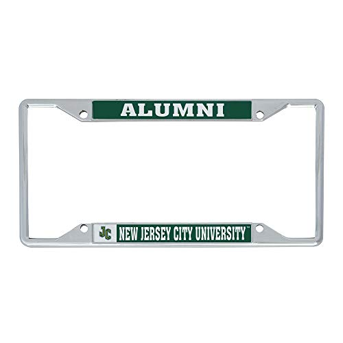 Desert Cactus New Jersey City University NCAA Metal License Plate Frame for Front or Back of Car Officially Licensed (Alumni)