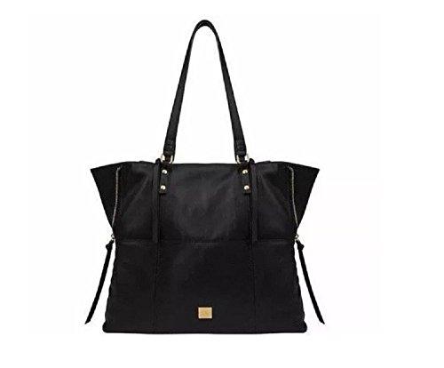 Kooba Leather Tote (Black) 2hands 1lb,7oz