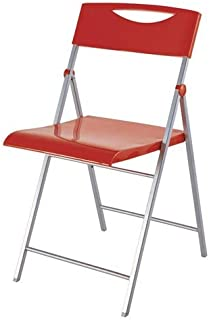 Amazon.es: sillas rojas - Sillas plegables / Sillas: Jardín