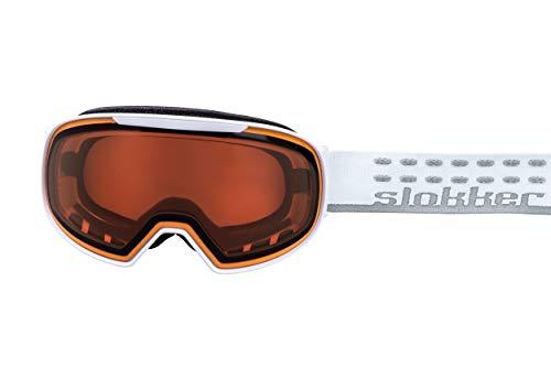 Slokker Skibrille SF (White)
