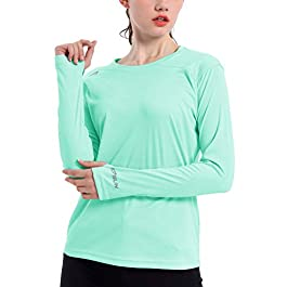 Women's UPF 50+ UV Sun Protection Shirt Outdoor Performance...