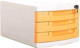 Classeurs Classeur tiroirs de rangement de bureau Cabinet Fournitures confortable Pull-in design Tidy journal Porte-rails ...