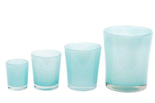 Übertopf Dutz CONIC VASE H11 D9,5 - hohe glasvase glasvasen glasvase große gl...
