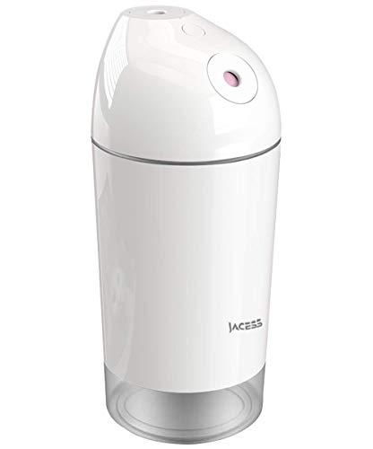 Jacess 卓上 加湿器 LG2600mAh 大容量 令和革新モデル 超音波式 加湿器 超静音 車用加湿器 除菌 暖かい電球...