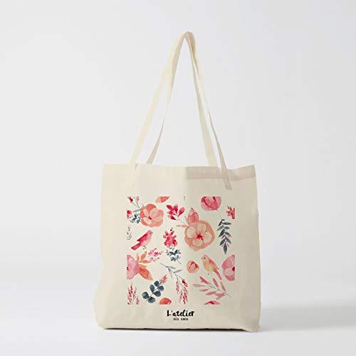 Einkaufstasche Sommer Tropische Tasche Canvas Baumwolle Tasche Wickeltasche Handtasche Tote Bag of Race Aktuelle Tasche Einkaufstasche Geschenk für Freund