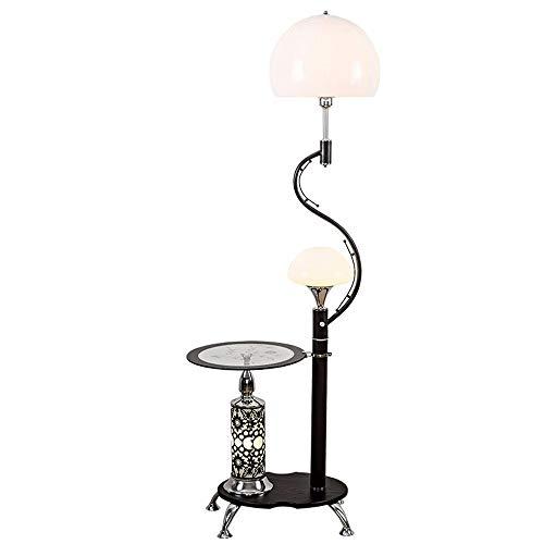 CHENJIA Lámpara de pie inteligente pintura mate, metal lámpara de pie, Goose Neck ajustable lámpara de pie con metales pesados basado, ligero for sala de estar, 165cm