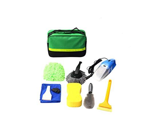 LMH Clean Cleaning Herramientas Kit Lavado de Coches Cepillo de vacío Limpiador Shovel Sponge Glove Auto Limpieza Lavado Suministros Suministros