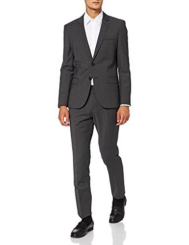 HUGO Herren Arti/Hesten212X Business-Anzug Hosen-Set, Dark Grey28, 98