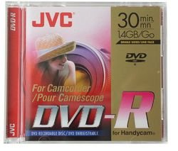 JVC vd-r14de3Pack 3DVD-R beschreibbar Camcorder 1,4GB 30min Geschwindigkeit X2