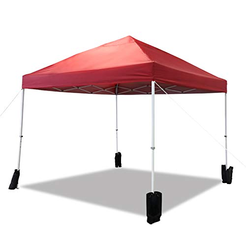 ABCCANOPY 10 x 10 Canopy Top Replacement 100/% Waterproof for Pop Up Canopy Portable Shade Canopy Instant Commercial Level White