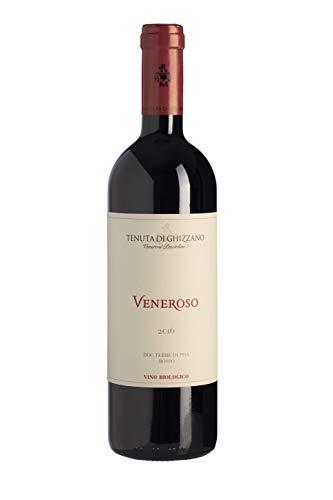 Tenuta di Ghizzano - Veneroso 2016 - Vino Tinto BIO D.O.C. Tierras de Pisa, Toscana. Orgánico. Premiado Vino Histórico Dedicado a Veneroso Venerosi. Botella 0,75 Litros
