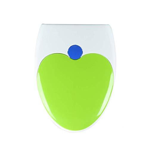 2 In 1 familie wc-bril met ingebouwde kinderzitje voor kinderen en volwassenen met zachte, snelle release scharnieren en kindvriendelijke Potty Training (kleur: blauw, maat: U-type)