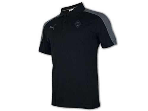 PUMA Herren BMG Triple Polo Poloshirt, Black, M