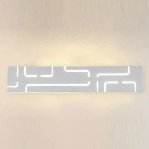 ZHZHUANG Lámpara de pared de metal con diseño creativo moderno para baño, lámpara de pared impermeable Ip44, color amarillo