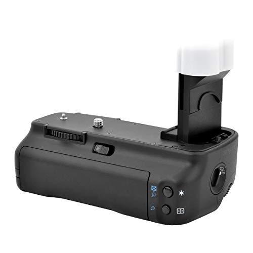 Newmowa BG-E2N Mango de Repuesto Battery Grip para Canon EOS 20D 30D 40D 50D Cámara réflex Digital