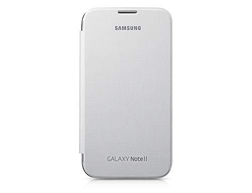 SAMSUNG EFC-1J9FTEGSTD Flip Cover per Galaxy Note 2, Blu