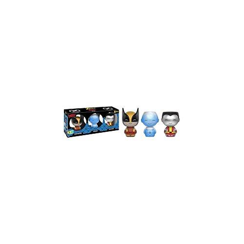 Dorbz: Marvel: X-Men: Wolverine + Iceman + Colossus Exclusivo