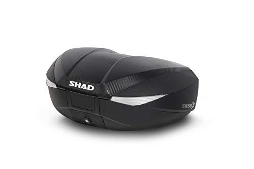 Shad D0B58206 BAUL Moto SH58X EXPANDIBLE Carbon