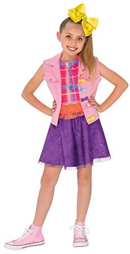 Rubies 640736S JoJo Siwa - Disfraz de video musical para niños, niña, talla pequeña/3-4 años